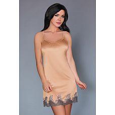 Нежная сорочка Yafe с открытой спинкой и кружевной отделкой  Нежная сорочка Yafe с открытой спинкой и кружевной отделкой.