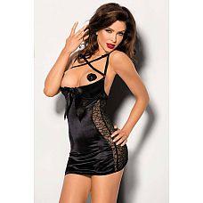 Сексуальная сорочка Pequena со шнуровкой на спинке  Сексуальная сорочка Pequena со шнуровкой на спинке.