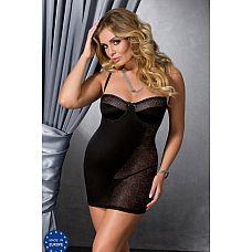 Роскошная сорочка Carolyn с полупрозрачной вставкой из кружева и шнуровкой на спинке  Роскошная сорочка Carolyn с полупрозрачной вставкой из кружева и шнуровкой на спинке.