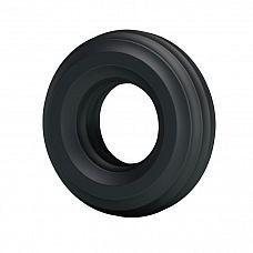 Чёрное широкое эрекционное кольцо  Эрекционное кольцо черного цвета для дополнительной стимуляции.