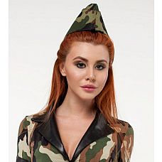 Военная пилотка  Военная пилотка может быть использована как часть игрового костюма или как для самостоятельного ношения.