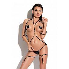 Портупея Queen of hearts Submission  Переворот в Fashion индустрии!Портупею можно использовать в качестве экстравагантного дерзкого бра или носить ее как украшение поверх одежды.
