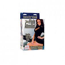 Эротическая кукла Sexy Flight Attendant    Эротическая кукла My Naughty Nurse Doll – надувная кукла с реалистичным 3-D лицом, приятными губами длинными распущенными светлыми волосами, наряд и шапочка медсестры снимаются, 2 позиции для секса.