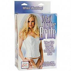 Эротическая кукла Mail Order Bride   Куколка блондинка с длинными волосами и 3D лицом.