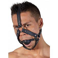 Кляп-намордник с фиксацией на голову Head Harness  Кляп-намордник с фиксацией на голову Head Harness.