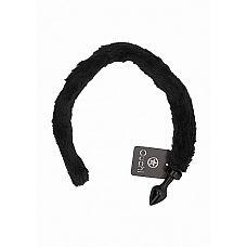 Анальная пробка KittyTail Black SH-OU235BLK