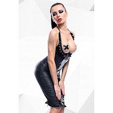 Комплект с открытой грудью Danika  Комплект Danika состоит из бюстгальтера с открытой грудью и длинной юбки.