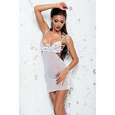 Тюлевая сорочка Amelie с кружевным лифом и открытой спинкой  Тюлевая сорочка Amelie с кружевным лифом и открытой спинкой.