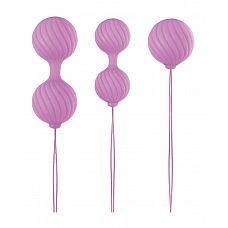 Набор розовых вагинальных шариков Luxe O  Weighted Kegel Balls  Набор розовых вагинальных шариков Luxe O  Weighted Kegel Balls.
