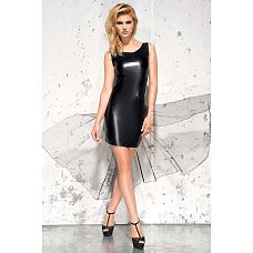 Эротическое wet-look платье Jasmin со шлейфом  Эротическое wet-look платье Jasmin со шлейфом.