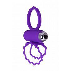 Фиолетовое эрекционное виброкольцо BOB  Изысканный дизайн этого виброкольца поражает воображение! Силиконовые крылья, напоминающие бабочку, придают кольцу нежность и легкость.