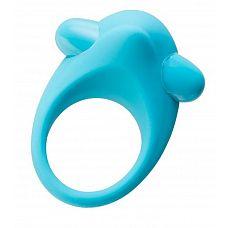Голубое эрекционное силиконовое кольцо TOYFA A-Toys  Силиконовое виброкольцо А-Toys позволит вам усилить ощущения и получить совместное удовольствие от секса.