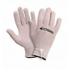 Перчатки с электростимуляцией E-Stimulation Gloves  Перчатки с электростимуляцией E-Stimulation  Gloves E-Stimulation Gloves идеально  подходят как для начинающих, так и для продвинутых  пользователей! Наденьте перчатки, выберите  настройку на пульте управления и за секунды  пройдите путь от чувственного пощипывания  до «отключки»! Удивите себя и своего партнёра  тем, каким стимулирующим может быть ваше  прикосновение! Перчатки предлагаются в  безразмерном варианте, который подходит  всем.