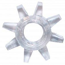 Прозрачное эрекционное кольцо Rings Cogweel  Эрекционное кольцо из серии Rings- игрушка, предназначенная исключительно для мужчин.