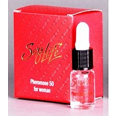 Концентрат феромонов Sexy Life для женщин (концентрация 50%), 5 мл.  Концентрат феромона SexyLife  Феромоны - это лучшее что может предложить сегодня современная наука для сближения полов.