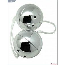 Серебристые шарики со смещённым центром тяжести  Шарики со смещённым центром тяжести, серебряные.