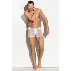 Полупрозрачные трусики-шорты Mateo   Мужские эротические шорты с прозрачными вставками Mateo.