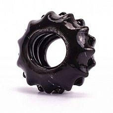 Чёрное эрекционное кольцо POWER PLUS Cockring  Чёрное эрекционное кольцо POWER PLUS Cockring. Отлично растягивается.