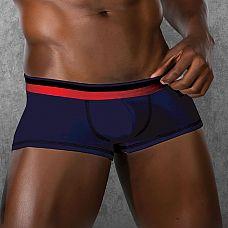 Трусы-боксеры с низкой посадкой  Боксеры на низкой посадке из хлопково-модальной ткани.