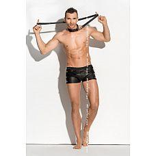 Мужские трусы-шорты с цепями по бокам Doro  Мужские эротические шорты с цепями Doro.