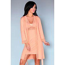 Ночной комплект Shirleena - пеньюар и сорочка  Нежный комплект из вискозы.