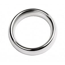 Металлическое эрекционное кольцо размера L  Блестящий мужской аксессуар, способный не только продлить половой акт за счет сдерживания кровотока, но и добавить уверенности и харизмы своему обладателю.