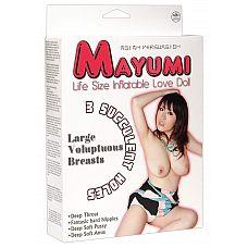 Секс-кукла Mayumi с 3 любовными отверстиями  Секс-кукла Mayumi с 3 любовными отверстиями.