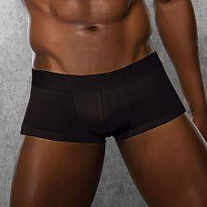 Укороченные полупрозрачные боксеры  Боксеры из хлопково-модальной ткани.