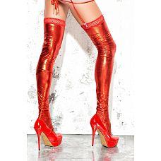 Чулки wet-look с открытой пяткой и носком  Революция в мире чулок! Никто не может отрицать, что чулки   самый притягательный атрибут в женском гардеробе.