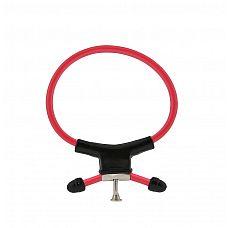 Красно-чёрное эрекционное кольцо с утяжкой RING OF POWER ADJUSTABLE RING  Красно-чёрное эрекционное кольцо с утяжкой RING OF POWER ADJUSTABLE RING.