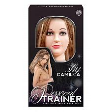 Секс-кукла с вибрацией Shy Camilla  Надувная кукла любви  Камилла имеет трехмерное лицо, длинные ресницы и длинные светлые волосы.
