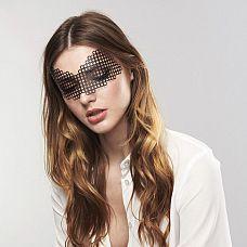 Маска-сетка на глаза ERIKA  Маскарадная маска ERIKA из коллекции Bijoux подойдет и для громких вечеринок и для чувственных таинственных встреч.