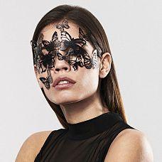Маска на глаза в виде бабочек SYBILLE  Маскарадная маска SYBILLE из коллекции Bijoux подойдет и для громких вечеринок и для чувственных таинственных встреч.