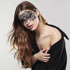 Ажурная виниловая маска на глаза DALILA  Ажурная маскарадная маска DALILA из коллекции Bijoux подойдет и для громких вечеринок и для чувственных таинственных встреч.
