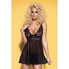 Сорочка бэби-долл Imperia с кружевным лифом  Эта сорочка бэби-долл подчеркнёт вашу женственность.
