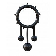 Чёрное эрекционное кольцо Original Ball Banger  Чёрное эрекционное кольцо Original Ball Banger.