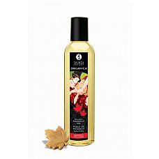 Массажное масло с ароматом кленового сиропа Organica Maple Delight - 250 мл.  Чувственное удовольствие и нежные прикосновения.