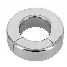 Металлическое эрекционное кольцо на магнитах Sextreme  Металлическое эрекционное кольцо на магнитах Sextreme.