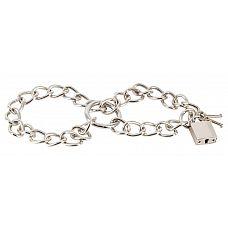Металлические наручники-цепь Bad Kitty Metal Handcuffs  Металлические наручники-цепь Bad Kitty Metal Handcuffs.