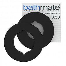 Уплотнительное кольцо Cushion Rings для Bathmate Hyrdomax X50 - 2 шт.   Благодаря этому уплотнительному колечку из вспененной резины пользование вашим гидромассажёром Bathmate Hyrdomax X50 станет максимально комфортным.