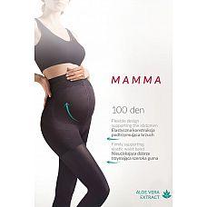 Колготки для беременных Mamma 100 den  Колготки для беременных с экстрактом алоэ вера Mamma 100 den.