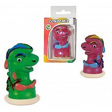 Сувенирный латексный презерватив  Акула   Сувенир представляет собой изделие из натурального латекса, с красочной, забавной фигуркой в верхней части.