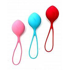 Набор из трёх вагинальных шариков Satisfyer Balls  Satisfyer Balls   набор из трех одиночных шариков разного веса, но одинакового размера.