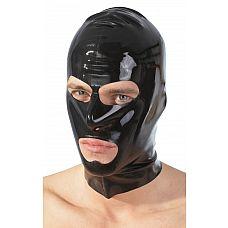 Шлем-маска на голову с отверстиями для рта и глаз  Шлем-маска на голову с отверстиями для рта и глаз. Размер унисекс.