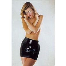Юбка из латекса Black Latex Mini Skirt  Эпатажная юбка, выполненная из черного латекса – прекрасный БДСМ антураж для женщин. Она соблазнительно обтянет и подчеркнет каждый изгиб ваших ягодиц и бедер. В такой юбке вы легко станете Госпожой. Эта юбка – классический атрибут практически любой БДСМ игры. <br>Однако, для того, чтобы купить эту роскошную юбку, достаточно просто любить свое тело и обладать желанием порадовать и даже удивить своего мужчину.