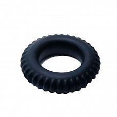 Черное силиконовое эрекционное кольцо-шина Sex Expert  Эрекционное кольцо из мужской коллекции интимных аксессуаров «SexExpert» с небольшими шипиками доставит невероятное удовольствие обоим партнерам.