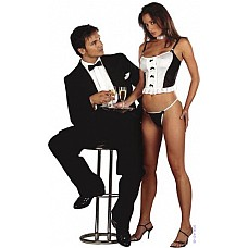 Сексуальный костюм WAITRESS  Эротический костюм официантки (топ и трусики).