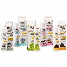 Комплект PJUR MED  При покупке 5 лубрикантов по 100 мл и 1 спрея 20 мл из серии PJUR MED Вы получаете пять разных бутыльков PJUR по 10 мл по бесплатно.