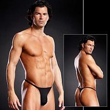 Т-стринги для мужчин BLM024-BLK L / XL  Очень удобные мужские трусы-стринги на тонких резиночках, мягкий, приятный для тела и невероятно эластичный материал.