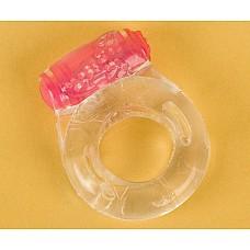 Прозрачное эрекционное кольцо с вибратором (ToyFa 818034-1)  Эрекционное кольцо с минивибратором  сконструировано таким образом, чтобы удовольствие получали оба партнера. <br>Выступающая часть кольца позволяет стимулировать клитор партнерши или мошонку партнера, в зависимости от положения этой части. <br>Само кольцо продлевает эрекцию и подходит для всех Размеров полового органа! <br>Сделано из гигиенического  материала моментально приобретающего температуру тела! <br>Высочайшая прочность  в сочетании  с эластичностью! <br>Не содержит ФТАЛАТОВ! <br>НЕТОКСИЧЕН ! <br>Гипоаллергенен! <br>Без запаха и вкуса!